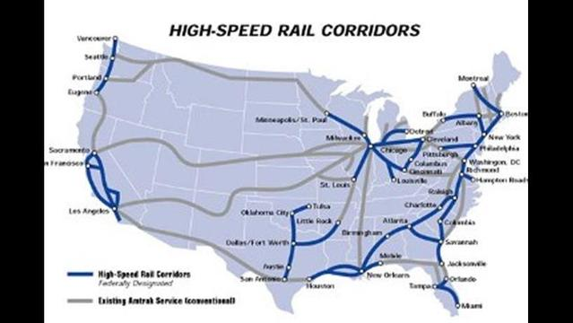 High speed train between Detroit and Chicago?