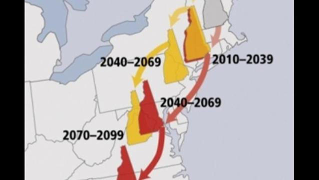 Climate change in New England: Scientists appeal to politicos to take it seriously