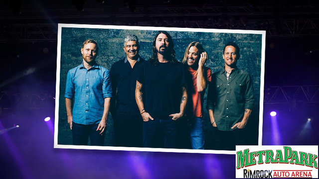 Foo Fighters to Play MetraPark
