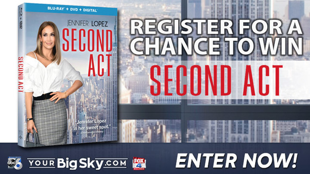 DVD Second Act Sweepstakes